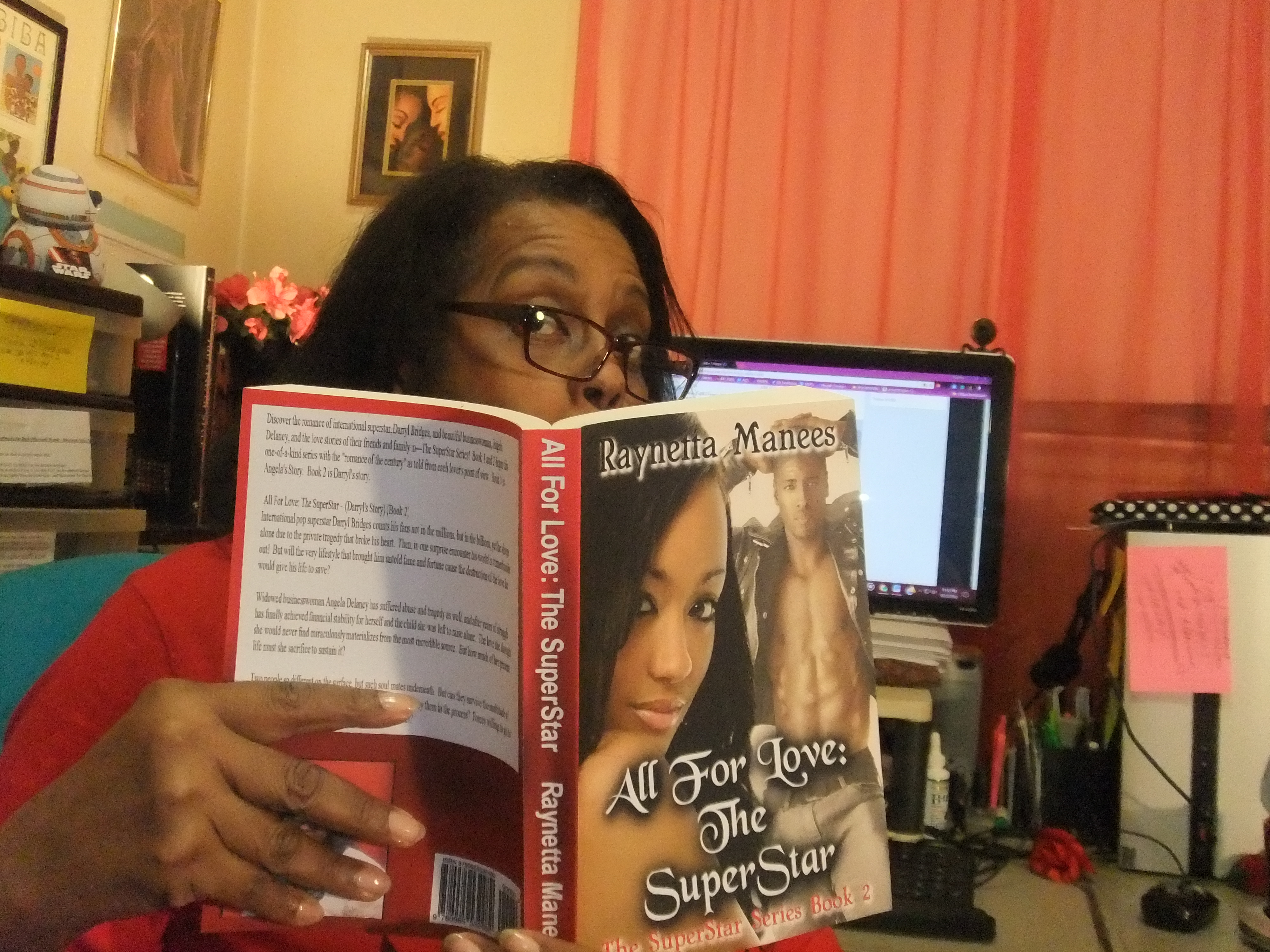 Raynetta Manees Author Page on Facebook